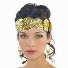 Gods & Goddesses Gold Head Wreath Costume Accessorie