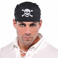 Pirate Skull Bandana Head Accessorie