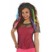 Totally 80's Party Supplies - Crimped Hair Extensions
