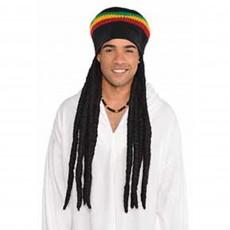 Black Party Supplies - Buffalo Soldier Wig