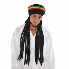 Feeling Groovy & 60's Party Supplies - Buffalo Soldier Wig