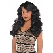 Black Fabulous Wig ii Head Accessorie