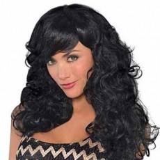 Black Fabulous Wig Head Accessorie