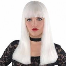 Gods & Goddesses Electra Glow in the Dark Wig i Head Accessorie