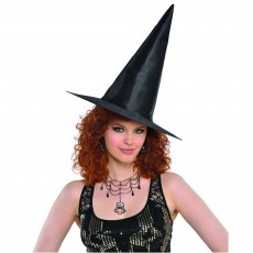 Halloween Party Supplies - Head Accessories - Adult Classic Witch Hat