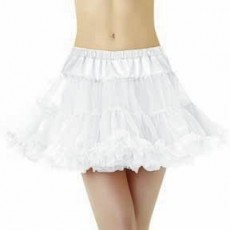 White Petticoat Bodywear Adult Costume