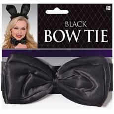 Black Party Supplies - Deluxe Bowtie