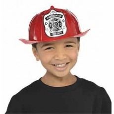 Firefighter Party Supplies - Fireman Red Hat