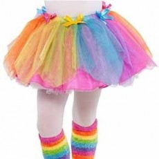 Fairies Rainbow FairyTutu Girls Costume