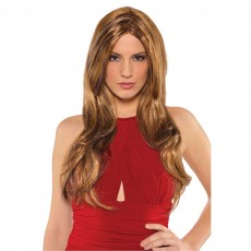 Hollywood Hot Honey Caramel Wig Head Accessorie