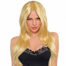 Yellow Blond Hot Honey Blonde Wig Costume Accessorie