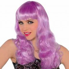 Purple Electric Wig Head Accessorie
