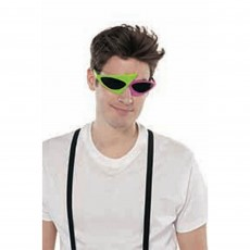 Awesome 80's Glasses Costume Accessorie