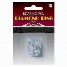 Roaring 20's Diamond Ring Costume Accessorie