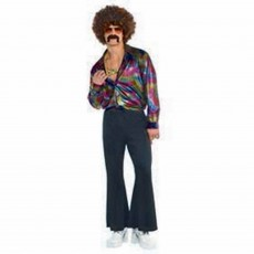 Disco & 70's Disco Shirt Adult Costume Adult Standard Size