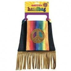 Feeling Groovy & 60's Hippie Hand Bag Weapon Accessorie