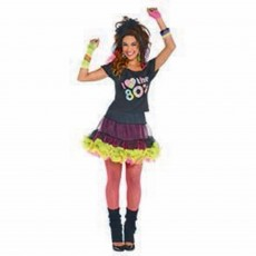 Awesome 80's T-Shirt Adult Costume