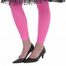 Awesome 80's Pink Leggings Adult Costume