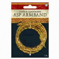 Gods & Goddesses Asp Snake Arm Band Costume Accessorie