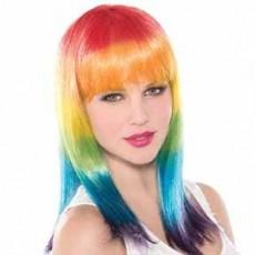 Rainbow Spectrum Wig Costume Accessorie
