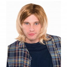 Rock n Roll Party Supplies - 90's Rock Star Wig