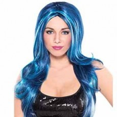Blue Party Supplies - Wig II