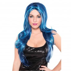 Blue Candy Wig Head Accessorie
