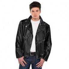 Rock n Roll Greaser Jacket Adult Costume