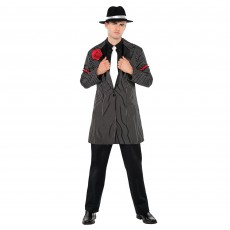 Great 1920's Zoot Suit Jacket Adult Costume