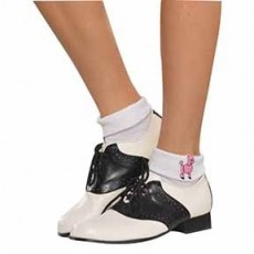 Rock n Roll Sock Hop Socks Costume Accessories