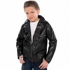 Rock n Roll Greaser Jacket Child Costume Child Standard Size