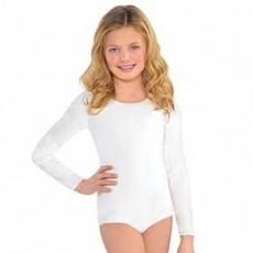 White Body Suit Child Costume S/M Child Size