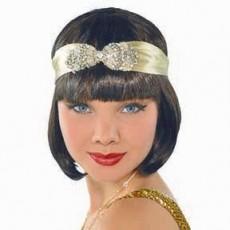 Roaring 20's Flapper Headband & Jewels Costume Accessorie