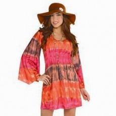 Feeling Groovy & 60's Festival Dress Adult Costume Adult Standard Size