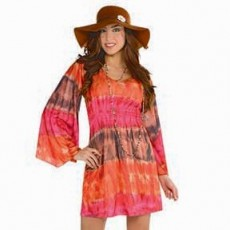 Feeling Groovy & 60's Festival Dress Adult Costume