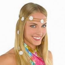 Feeling Groovy & 60's Party Supplies - Festival Flower Headwreath