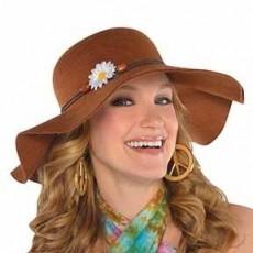 Feeling Groovy & 60's Festival Floppy Hat Head Accessorie