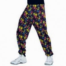 Awesome 80's Muscle Pants Adult Costume Standard Size