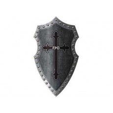 Gods & Goddesses Medieval Cross Shield Costume Accessorie