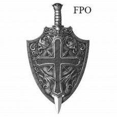 Gods & Goddesses Crusader Shield & Sword Set Costume Accessorie