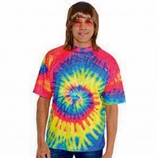 Feeling Groovy & 60's Tye Dye T-Shirt Costume Accessorie