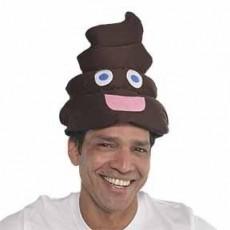 Brown Poophead Hat Costume Accessorie