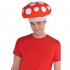 Red Mushroom Hat Head Accessorie