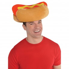 USA Hot Dog Hat Costume Accessorie