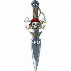 Pirate Deluxe Dagger Costume Accessorie