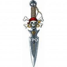 Pirate's Treasure Party Supplies - Deluxe Dagger