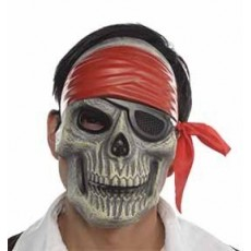 Pirate Skull Mask Costume Accessorie