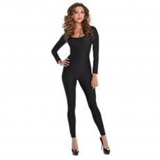 Black Catsuit Adult Costume M/L Adult Size
