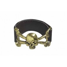 Pirate Skull Cuff Bracelet Costume Accessorie