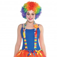 Big Top Clown Deluxe Suspenders Costume Accessorie